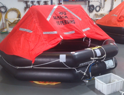 Liferaft test