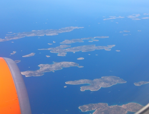 Croatia from the air